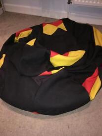 Belgium flag bean bag