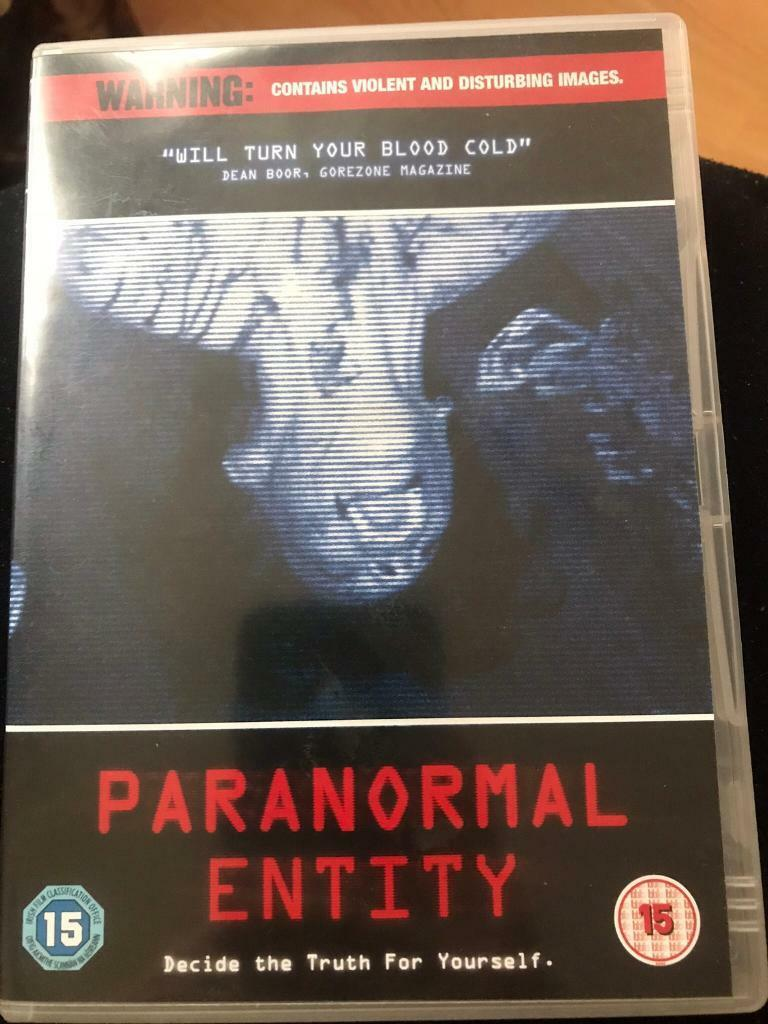 Paranormal Entity dvd