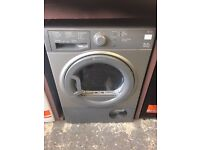 Hotpoint TCFS83 8kg Condenser Tumble Dryer in Silver #3828