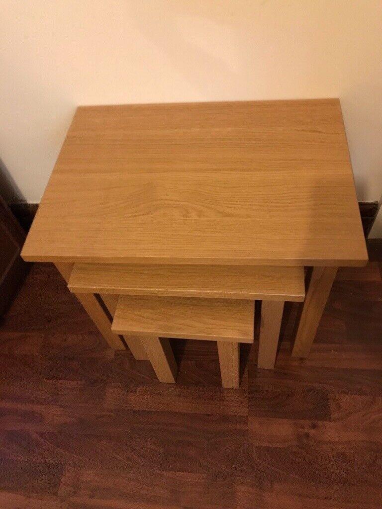G plan modern nest of tables