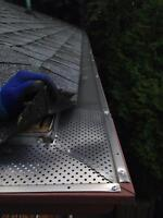 GUTTER GUARDS INSTALL - get cleaning free!!!
