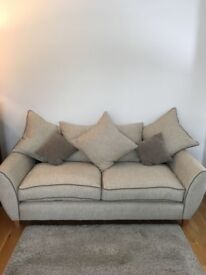 3 seater 2seater , chair and footstool