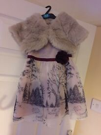 ***NOW SOLD***. Absolutely stunning girls M&S Autograph collection, occasional dress,