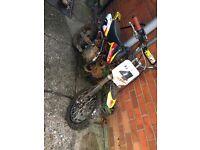 110cc Stomp Pit Bike