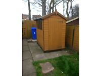 6 X 4 Garden Shed. Less than 12mth old