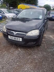 2003 VAUXHALL CORSA C 1.0 PETROL BREAKING FOR PARTS