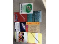 Flute sheet music, some new some with cds perfect condition