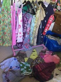 Huge bundle girls summer clothes age 7 -12 years s