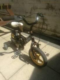 14 inch bike with stabilizers