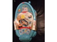FISHER PRICE HAPPY HIPPO BATHER NEW age 0/6 MONTHS OR UP TO 20LBS