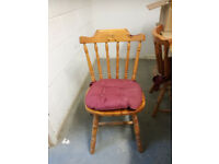 6 kitchen chair for free