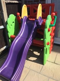 Kids playhouse Activity Climber and Slide