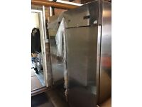 **ZANUSSI CATERING FRIDGE AND FREEZER FOR SALE DUE TO SURPLUS STOCK PURCHASED**