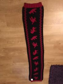 Dsquared2 heavy knit scarf