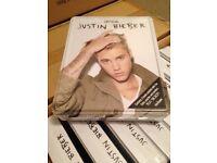 Job lot of Justin bieber tin of books x60
