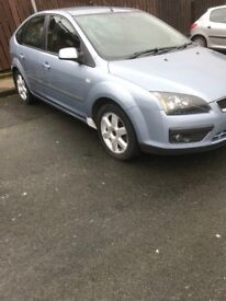 2005 Ford Focus mot to aug drives well needs body work