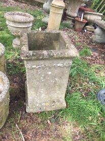 Weathered Garden Chimney Pot