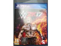 W2K17 for PS4 for sale