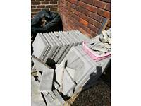 Patio slabs 450 x 450