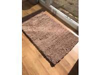 Brown Tufted Luxury Rug