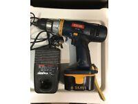Ryobi 14v drill and battery