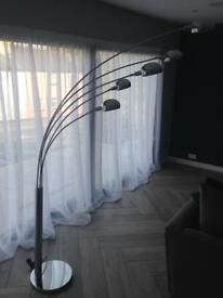 ***Reduced*** Retro Style Chrome Floor Lamp