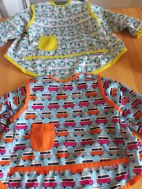 Pop in Close coverall apron - bibs 1-2 anni stage 4
