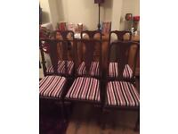 Victoria dining chairs