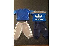 Adidas Baby Boys 0-3 Months