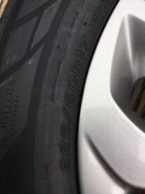 "Brand new Hyundai Tucson 17""alloy and Brand New Hankook 225/60R17 Tyre"