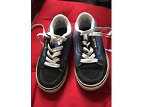 Vans shoes size child 10.5