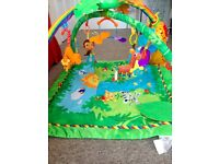Rainforest Baby Gym ~ excellent condition