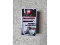 DEATH BY AUDIO ABSOLUTE DESTRUCTION Effects Pedal (Only used a handful of times)