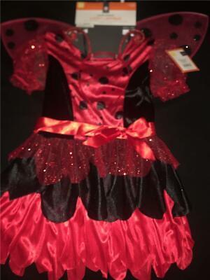 NEW LITTLE LUCKY LADYBUG LADY BUG Hearts Dots - Lucky Lady Halloween Kostüm