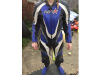 RST one piece leather race suit