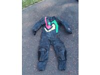 Akito one piece motorcycle leather suit