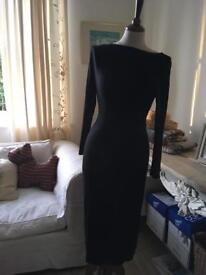 New look black dress size 12