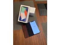 iPhone X 64GB Silver, UNLOCKED, in excellent condition