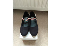RAD Character syllabus canvas shoes, low heel, very good condition, size 13 - £5