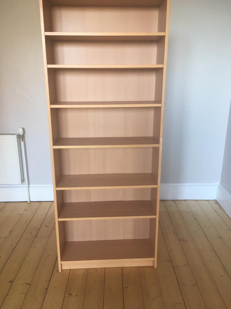 Two shelved bookcases for salein EdinburghGumtree - Two sturdy bookcases for sale.£50 for both or £30 each.Collection only from Trinity