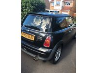 Much loved Stylish Black MINI Hatch 1.6 Cooper 3dr for sale