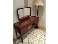 1970s G PLAN Fresco Dressing Table with Mirror