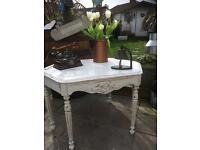 Vintage Oak Shabby Chic Coffee Table
