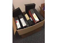FREE A4 ring binders, mainly black