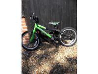 "Boys T-Rex Probike 10"" frame 18"" wheels - good condition"
