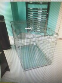 meduim sized dog cage