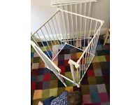 baby playpen in white usable in various sizes