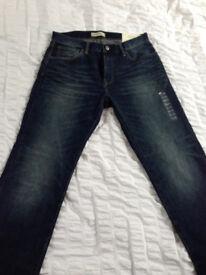 GAP jeans - brand new - 30 inch waist 30 inch leg