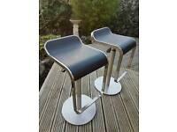 Conran style bar stools x2