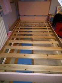 Single bed frams